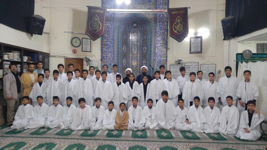 مدرسه بندگی مدرسه ای در مسجد